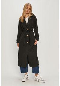 Czarny płaszcz only casualowy, na co dzień