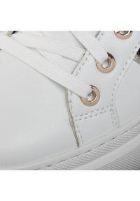 Białe buty sportowe Pollini
