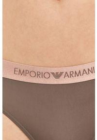 Emporio Armani Underwear - Emporio Armani - Stringi. Kolor: szary
