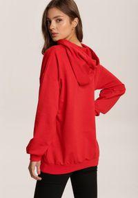 Czerwona bluza z kapturem Renee #5