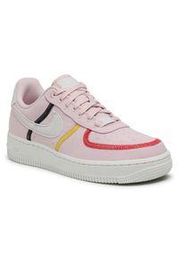 Różowe buty sportowe Nike Nike Air Force