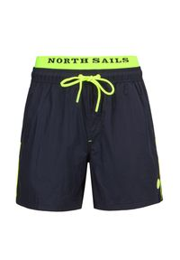 North Sails - Szorty kąpielowe NORTH SAILS VOLLEY W/LOGO. Materiał: tkanina. Wzór: aplikacja, paski