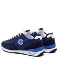 North Sails - Sneakersy NORTH SAILS - RH/01 Recy -054 Navy. Kolor: niebieski. Materiał: materiał, zamsz, skóra. Szerokość cholewki: normalna #2