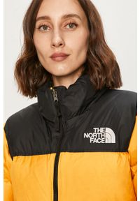 Żółta kurtka The North Face bez kaptura