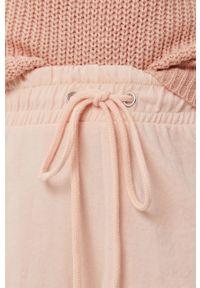 Różowe szorty Brave Soul casualowe, na co dzień, gładkie
