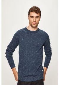 Niebieski sweter PRODUKT by Jack & Jones casualowy, na co dzień