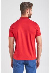 Trussardi Jeans - POLO trussardi jeans. Typ kołnierza: polo. Materiał: bawełna