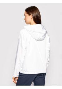 Trussardi Jeans - Trussardi Kurtka przejściowa Memory 56S00640 Biały Regular Fit. Kolor: biały