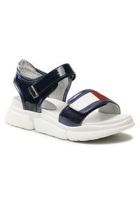Niebieskie sandały TOMMY HILFIGER