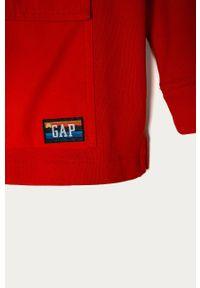 Pomarańczowa bluza GAP z kapturem