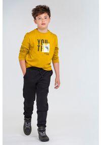 Czarne spodnie dresowe Mayoral