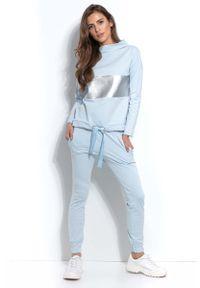 Niebieskie spodnie dresowe Fobya