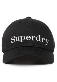 Czarna czapka Superdry