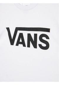 Vans T-Shirt By Vans Classic VN000IVF Biały Classic Fit. Kolor: biały