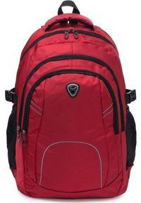 Czerwony plecak na laptopa Solome