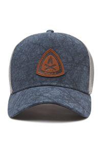 Buff - Czapka z daszkiem BUFF - Trucker Cap 125364.707.30.00 Lowney Blue. Kolor: niebieski. Materiał: poliester, materiał, bawełna