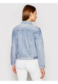 Levi's® Kurtka jeansowa Ex-Boyfriend Trucker 29944-0149 Niebieski Relaxed Fit. Kolor: niebieski. Materiał: jeans