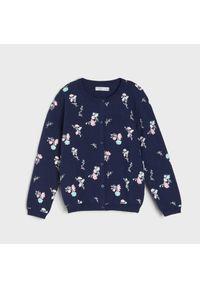 Sinsay - Sweter dziewczęcy - Granatowy. Kolor: niebieski