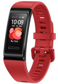 HUAWEI - Huawei bransoletka fitness Band 4 Pro, Cinnabar Red. Kolor: czerwony. Styl: sportowy