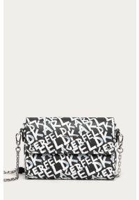 Czarna kopertówka Karl Lagerfeld klasyczna, na ramię