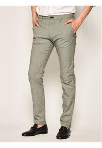JOOP! Jeans - Joop! Jeans Spodnie materiałowe 15 JJF-24Matthew-W 30020619 Szary Modern Fit. Kolor: szary. Materiał: materiał, bawełna, elastan