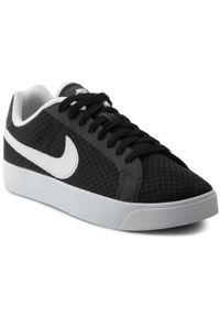 Czarne sneakersy Nike z cholewką, Nike Court