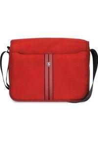 Czerwona torba na laptopa Ferrari