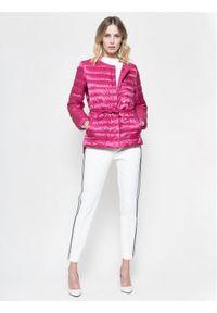 Różowa kurtka puchowa Weekend Max Mara