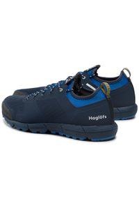 Haglöfs - Trekkingi HAGLÖFS - L.I.M. Low Men 498470 Tarn Blue/Storm Blue. Kolor: niebieski. Materiał: materiał. Sport: turystyka piesza