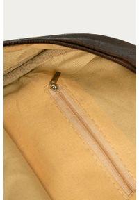 Brązowy plecak Answear Lab wakacyjny
