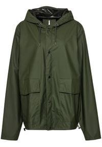 Rains Kurtka przeciwdeszczowa Unisex 1826 Zielony Regular Fit. Kolor: zielony #5