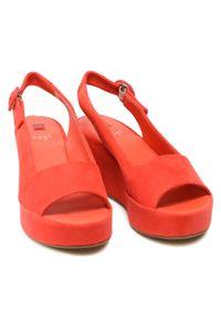 Czerwone sandały HÖGL