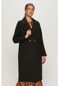 Czarny płaszcz Vero Moda na co dzień, raglanowy rękaw