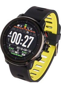 Zielony zegarek Garett Electronics smartwatch, sportowy