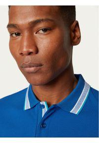 Niebieska koszulka polo BOSS polo
