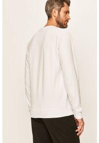 Biała bluza nierozpinana Tailored & Originals z nadrukiem, bez kaptura