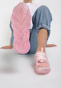 Różowe buty sportowe Renee