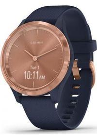GARMIN - Zegarek sportowy Garmin Vivomove 3S Granatowy (010-02238-23). Kolor: niebieski. Styl: sportowy