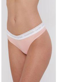 Calvin Klein Underwear - Stringi. Kolor: różowy