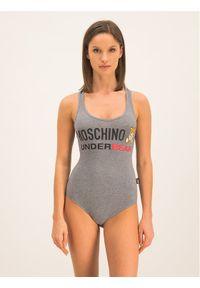 Szara bluzka body Moschino Underwear & Swim
