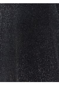 Czarny żakiet TOP SECRET w kolorowe wzory, długi, na lato, elegancki