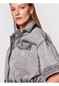 Szara kurtka jeansowa TwinSet