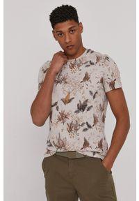 medicine - Medicine - T-shirt Modern Africa. Kolor: beżowy. Materiał: bawełna, dzianina