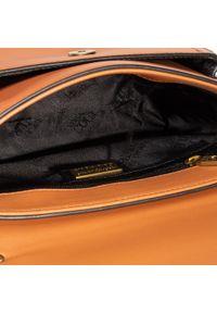 Versace Jeans Couture - Torebka VERSACE JEANS COUTURE - E1VZABD1 71577 706. Kolor: pomarańczowy. Materiał: skórzane. Styl: klasyczny