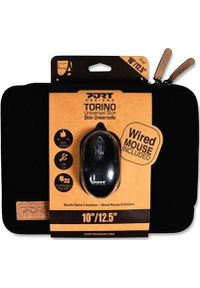 "PORT DESIGNS - Etui Port Designs Torino + Mysz 12"" Czarny. Kolor: czarny"