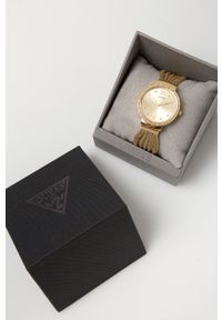 Złoty zegarek Guess Jeans