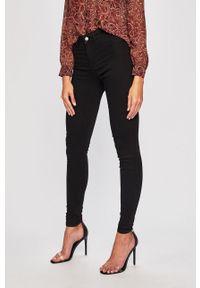 Czarne jeansy Pieces w kolorowe wzory #5