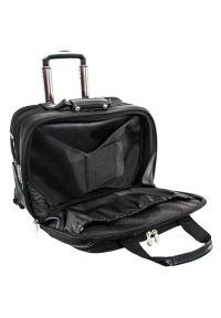 Torba na laptopa MCKLEIN Chicago 17 cali Czarny. Kolor: czarny. Materiał: nylon, neopren, skóra, materiał. Styl: elegancki, klasyczny, biznesowy