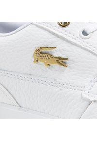 Lacoste - Sneakersy LACOSTE - Bayliss Deck 0721 1 Cma 7-41CMA006221G Wht/Wht. Kolor: biały. Materiał: skóra ekologiczna, materiał. Szerokość cholewki: normalna