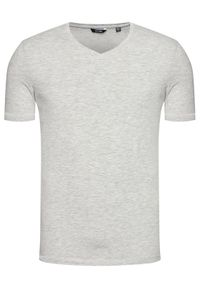 Only & Sons - ONLY & SONS T-Shirt Basic 22020799 Szary Slim Fit. Kolor: szary #4
